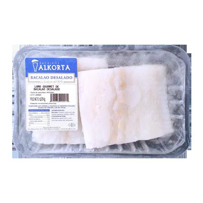 Bacalao desalado - Lomo gourmet 500