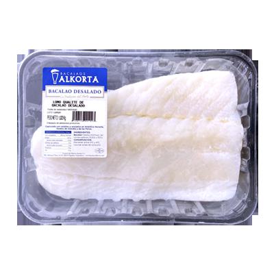 Desalted cod - Fillets qualite 1000