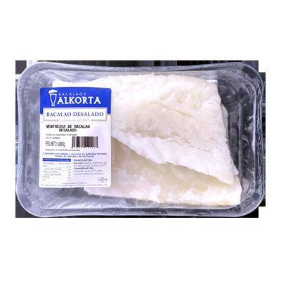 Cod desalted – Ventresca 400